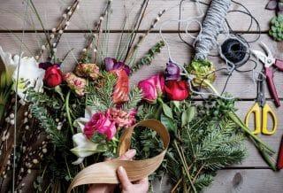 Faire une composition florale