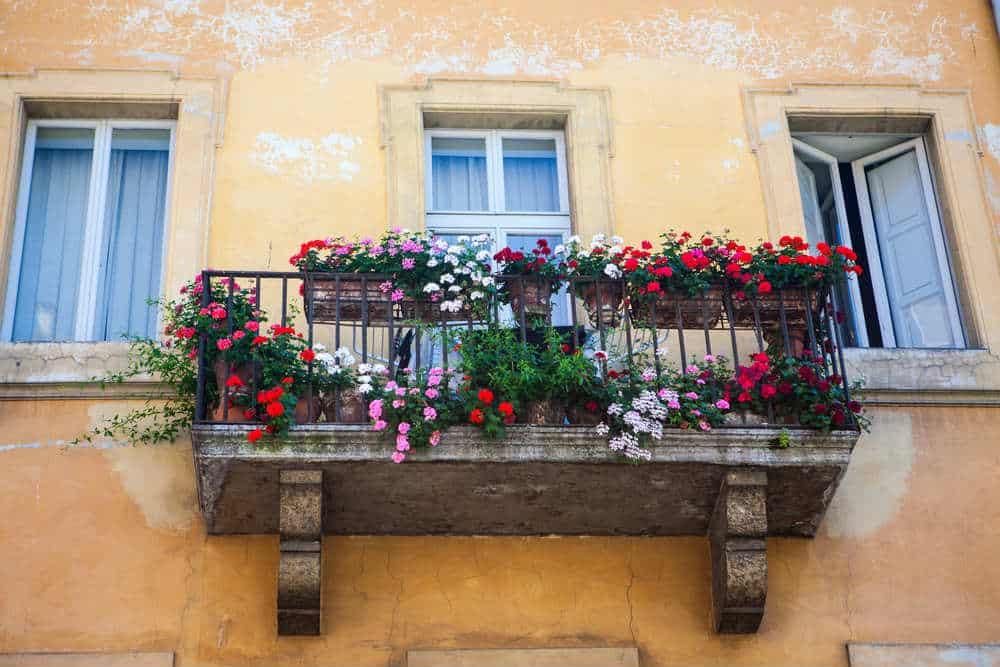 Comme un balcon de jardin?