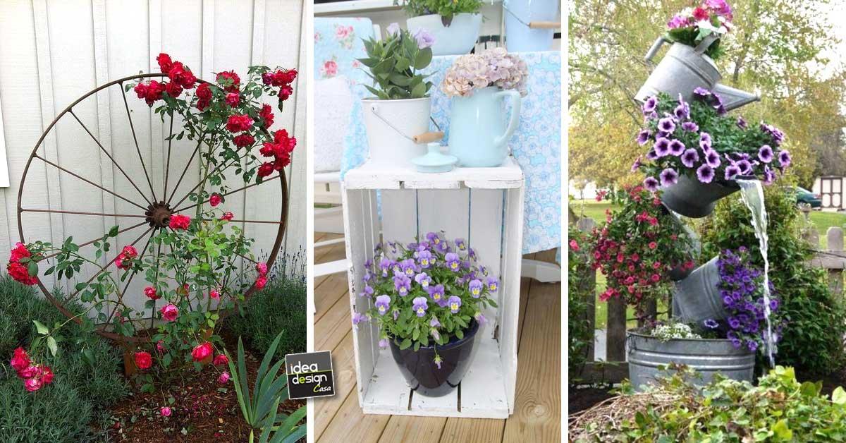 Idées de recyclage pour le jardin